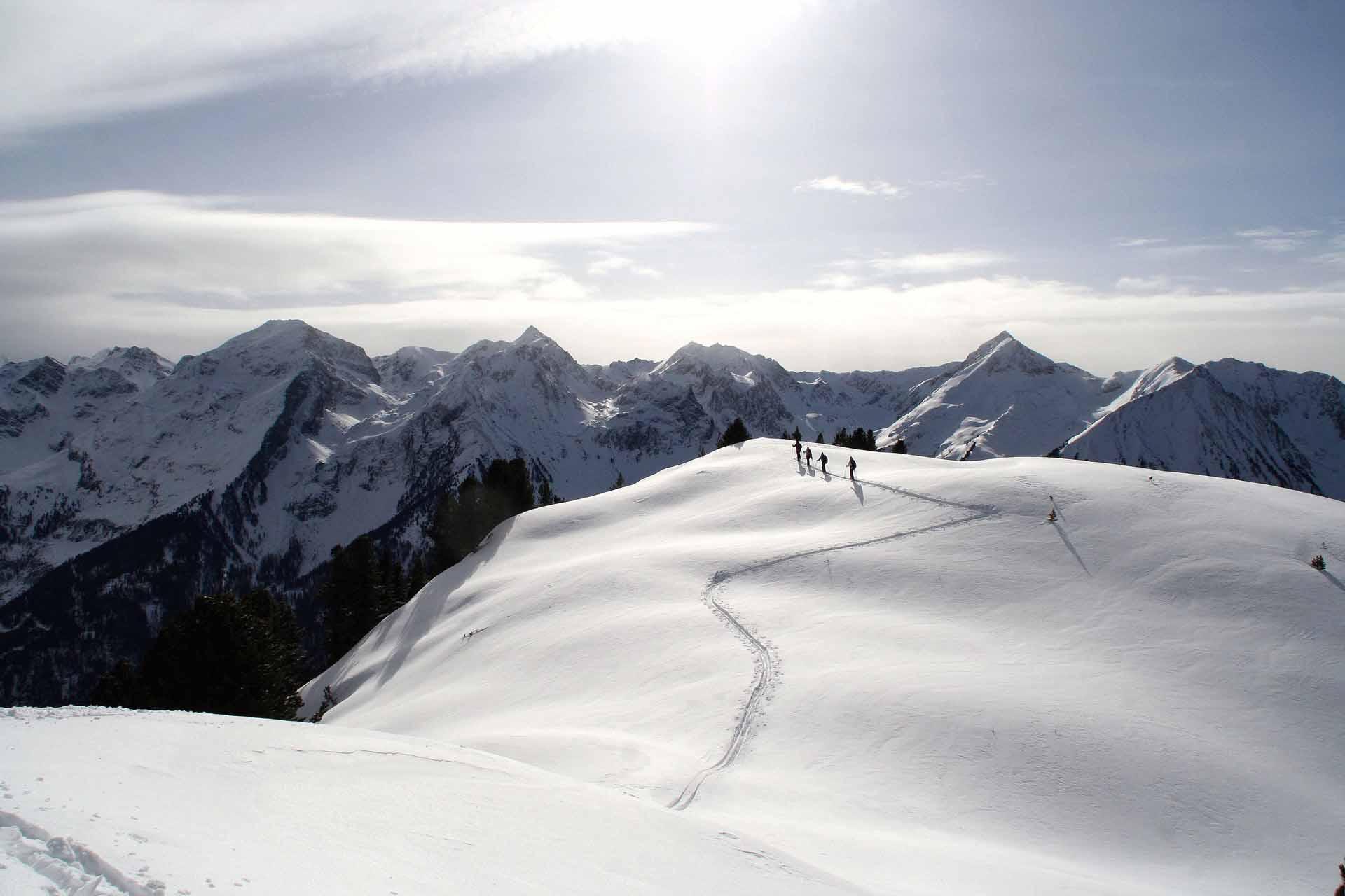 Ski touring in the Pitztal